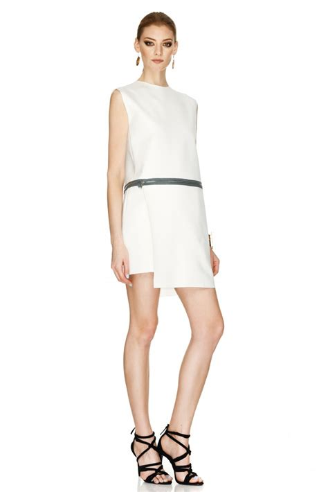 how to dress minimalist minimalist white dress pnk casual