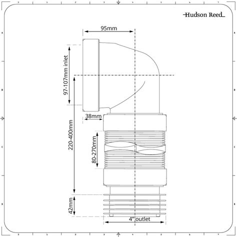 afmeting toilet afvoer mcalpine wc afvoer flexibel 90 176 pvc