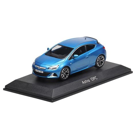 opel blue opel collection opel astra gtc opc 1 43 blue