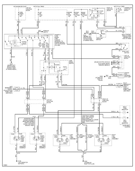 light wiring diagram for 2001 chevy impala