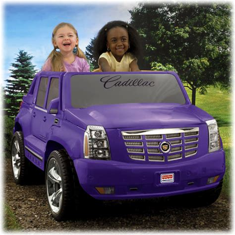 pink cadillac escalade power wheels quot new quot pw purple escalade modifiedpowerwheels