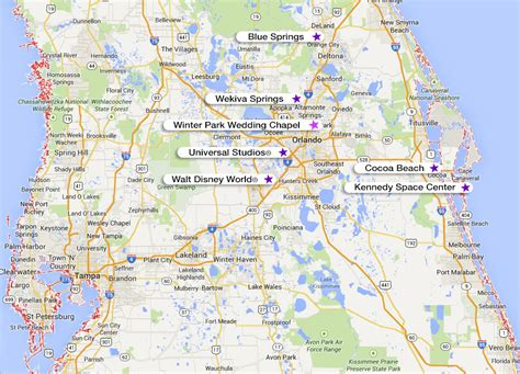 central florida pin central fl map on