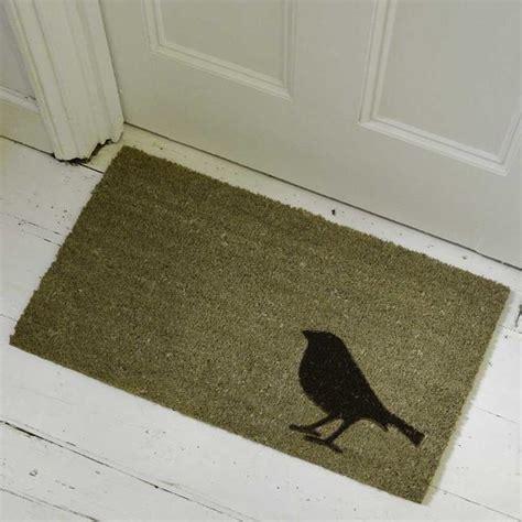 Bird Doormat buy bird coir doormat the worm that turned