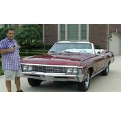 1967 Chevy Impala SS Convertible Classic Muscle Car For