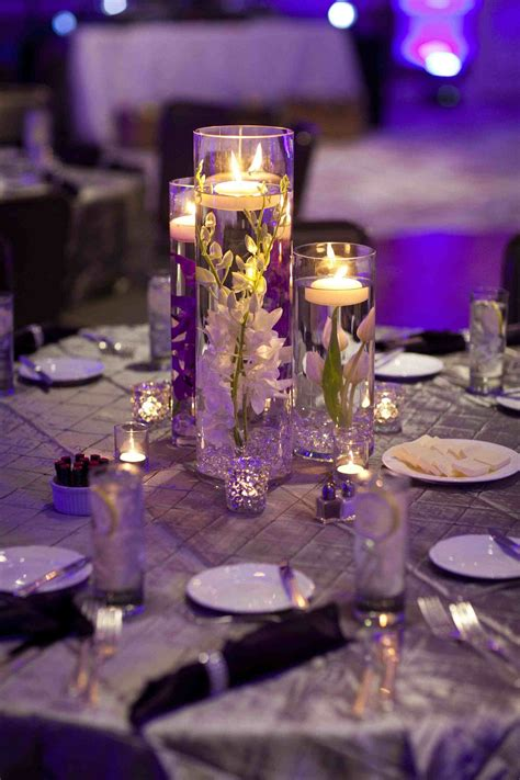 Wedding Reception Flower Centerpiece by Wedding Centerpiece Ideas With Candles Siudy Net