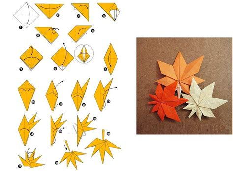 How To Make A Leaf Out Of Paper - how to make origami maple leaves tutorials for