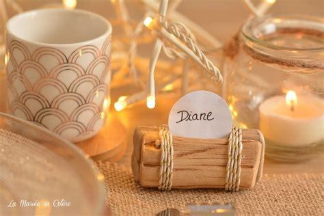 Diy Marque Place diy des marque places en bois flott 233 la mari 233 e en