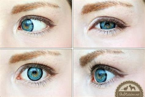 review: geo super nudy blue xch 622 circle lenses paperblog