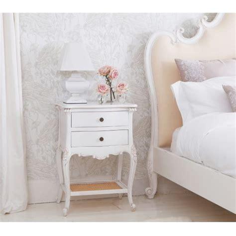 white bedroom side tables furniture vintage white wooden drawer bedside tables side