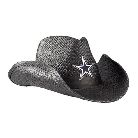 dallas cowboys cowboy hat black hats womens