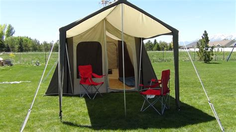 kodiak canvas tent 6133 6 person 9 x 12 ft with deluxe