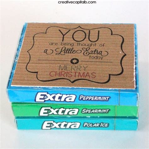extra gum printable gift tags 1000 ideas about extra gum on pinterest volunteer