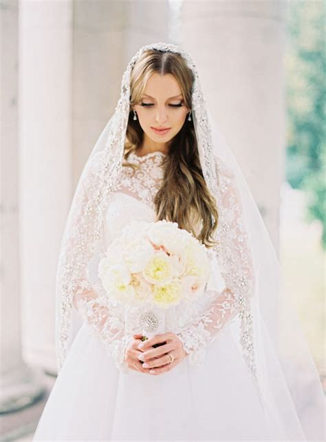 Mock Designer Wedding Dresses by Inspired By Nicky S Valentino Mock Neck Lace