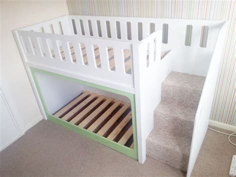 how to make a bunk bed with stairs 25 best ideas about toddler bunk beds on