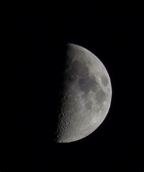 luna en cuarto creciente calendario 2016 la luna en fase cuarto creciente desde toledo espa 241 a el