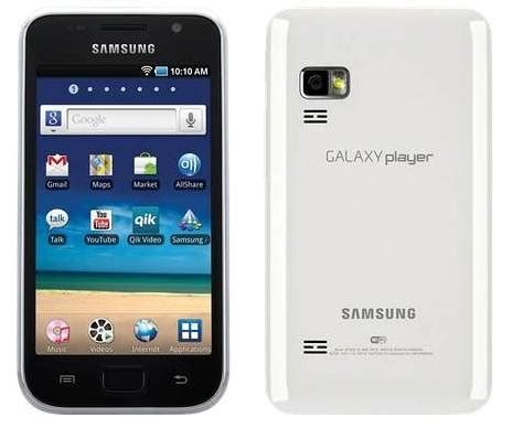 samsung galaxy player 5 inch mini tablet now available for