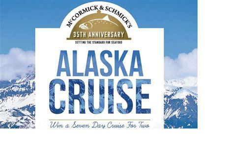 Cruise Sweepstakes 2014 - mccormick schmick s alaska cruise sweepstakes milesgeek