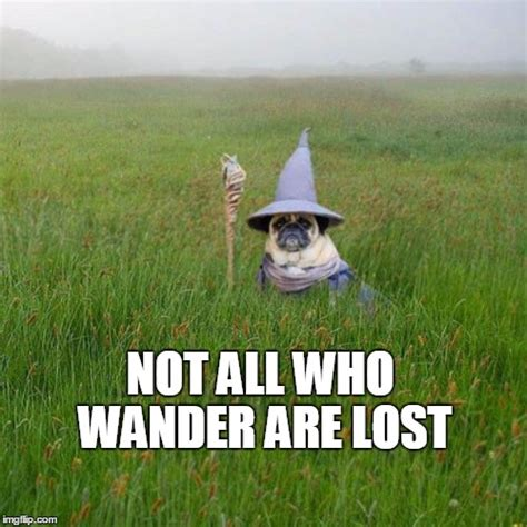 Wander Are Lost not all who wander are lost imgflip