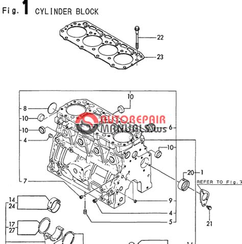 Yanmar Engine 4tne84t Bs B50w 1 Parts Catalog Auto