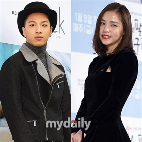 nb taeyang and min hyo rin are in a relationship spotted together big bang s taeyang and actress min hyo rin confirmed to be