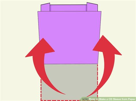 Make Paper Cd Sleeve - how to make a cd sleeve from paper 13 steps with pictures