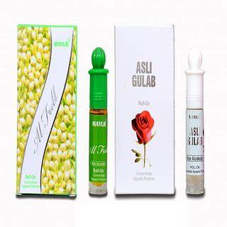 Parfum Shop Asli mayur al 8ml and asli gulab 8ml attar combo buy mayur al 8ml and asli gulab 8ml attar
