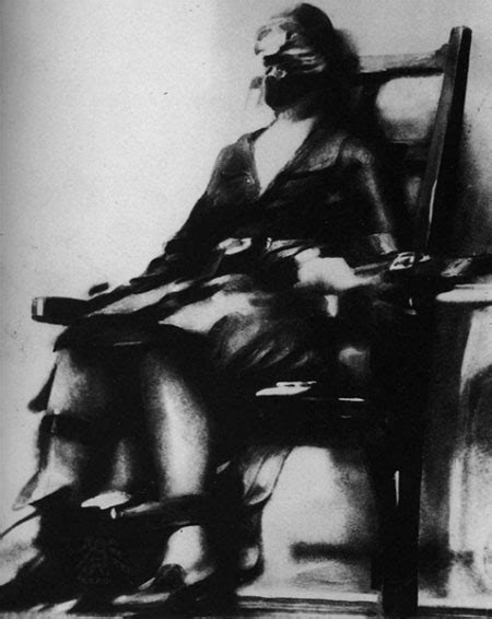 Execution By Electric Chair by The Photo Of An Execution By Electric Chair The