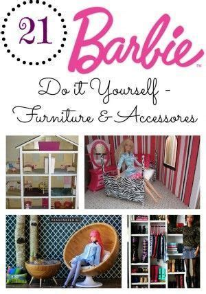 diy tutorials  extras  barbie home  garden