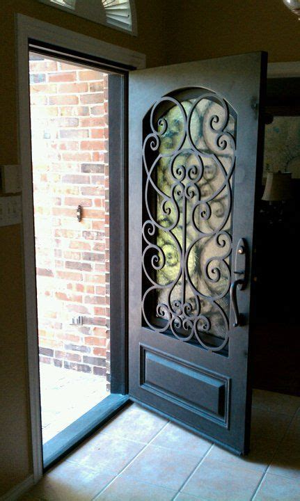 Wrought Iron And Glass Doors 28 Beautiful Glass Front Doors For Your Entry Shelterness