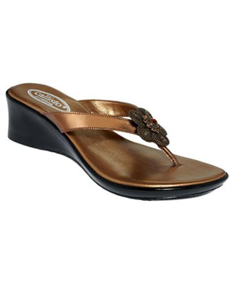 callisto shoes callisto henry wedge sandals shoes macy s