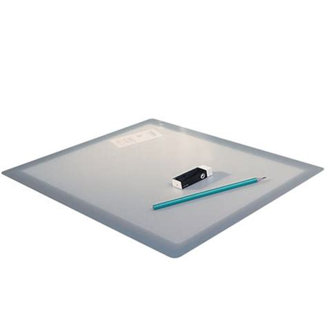clear desk pad