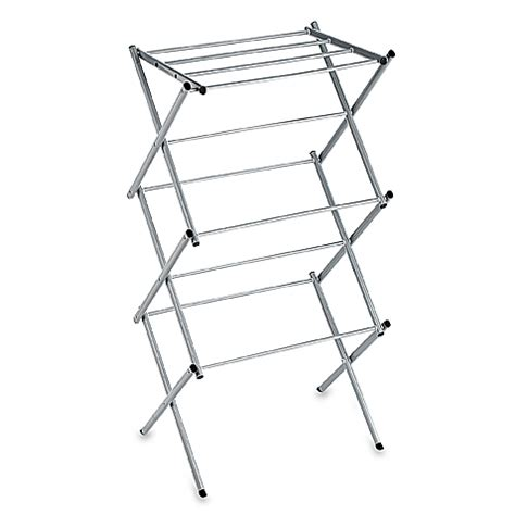 Compact Drying Rack by Polder 174 Compact Accordion Dryer Rack In Drizzle Bed Bath