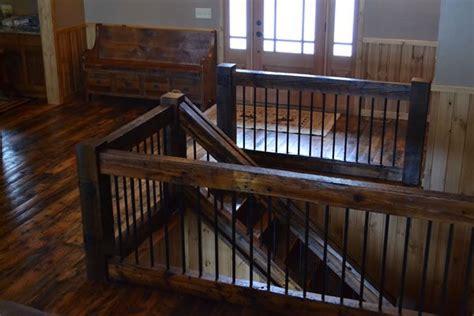 Reclaimed Handrail reclaimed wood railings railing reclaimed wood stair treads reclaimed pine stairs reclaimed