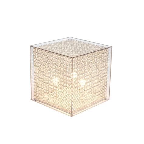 clear acrylic floor l arclite 20 in cube stand floor l with clear