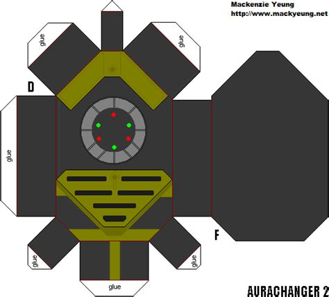How To Make Power Rangers Morpher With Paper - dairanger aura changer 2 by 80sguy on deviantart