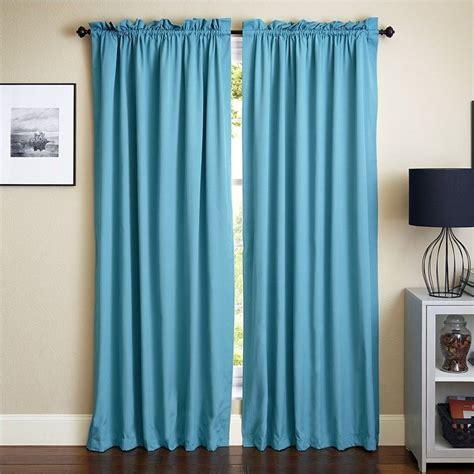 curtains aqua blue blazing needles 84 inch twill curtain panels in aqua blue