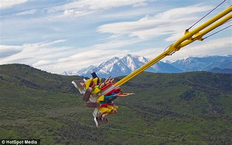 swing colorado is this the world s scariest swing new giant canyon