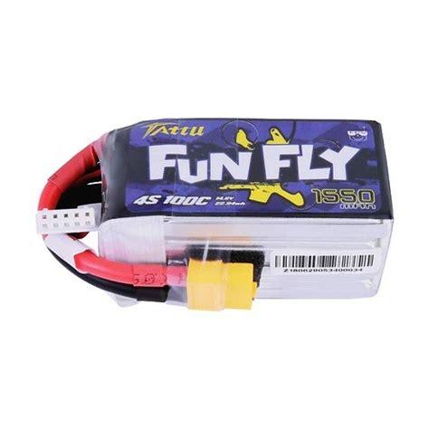 Töff Batterie tattu funfly serie 1550mah 14 8v 100c 4s1p batterie lipo