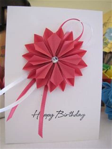 Origami Birthday Present - birthday card simple and stunning origami birthday card