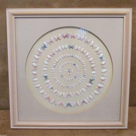 treibholz deko 1991 coquina shell picture circles 1991 collage handmade