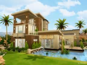 summer house sims 4 houses