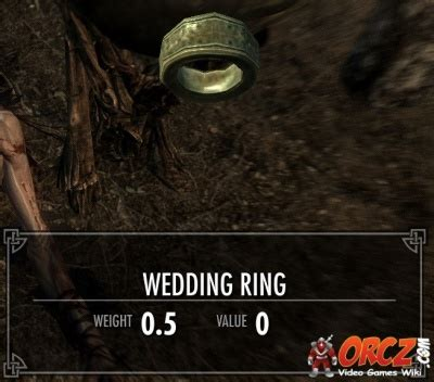 skyrim wedding ring orcz the wiki