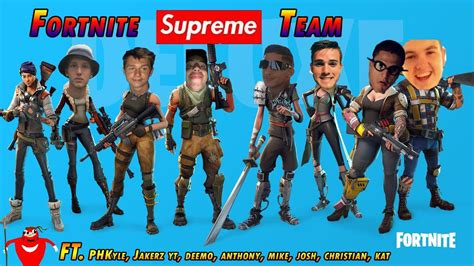 fortnite supreme team youtube