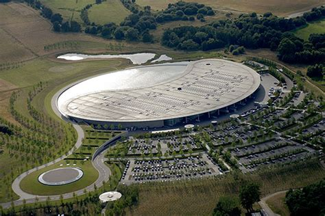 mclaren facility mclaren intends to build new production facility to rival