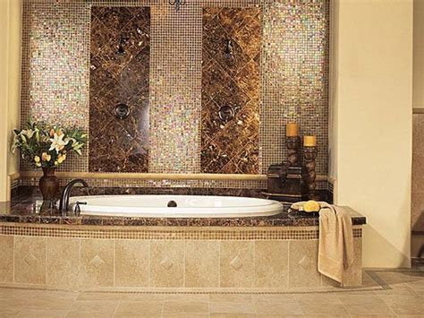 bathroom with mosaic tiles ideas 30 great ideas of glass tile for bath