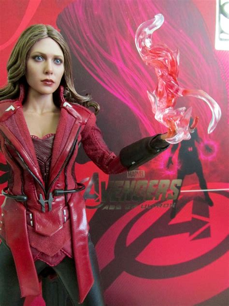 Toys Scarlet Witch Bib New Version Promo Edition 1 toys 1 6th scale age of ultron scarlet witch new promo