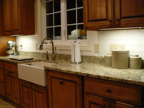 Backsplash With Marble Countertops by Fourtitude Granite Countertops Tile Backsplash