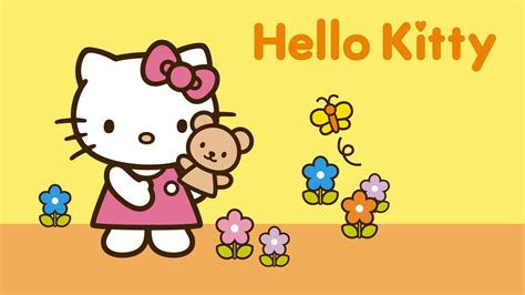 hello kitty wall wallpaper hello kitty hd wallpapers wallpaper cave