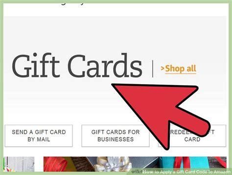 Withdraw Amazon Gift Card - 3 ways to apply a gift card code to amazon wikihow