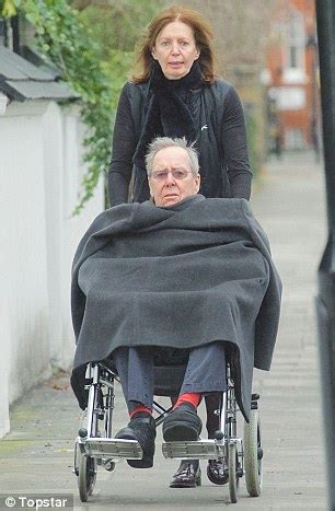 lord snowdon's ex wife has to give him her coat as they